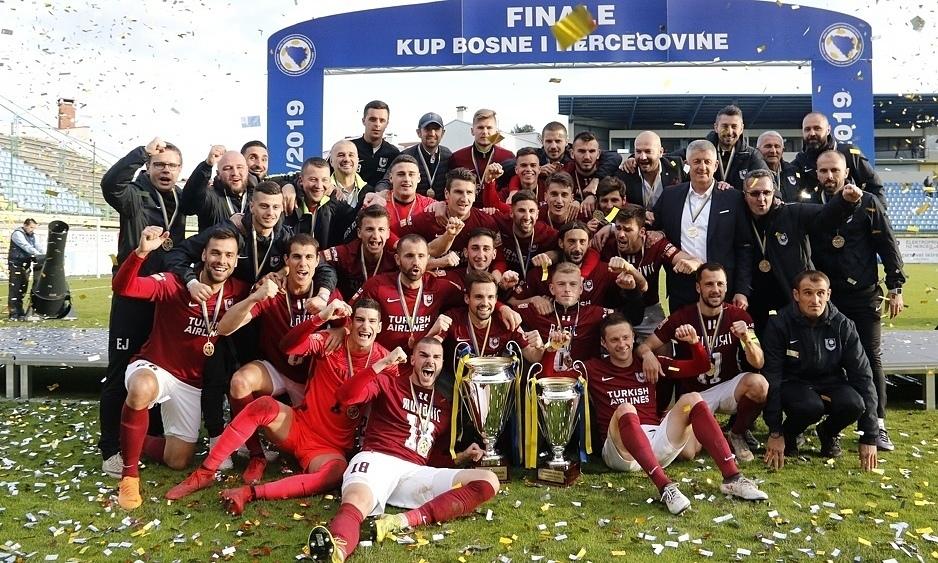 Premier League of BiH triumph moment