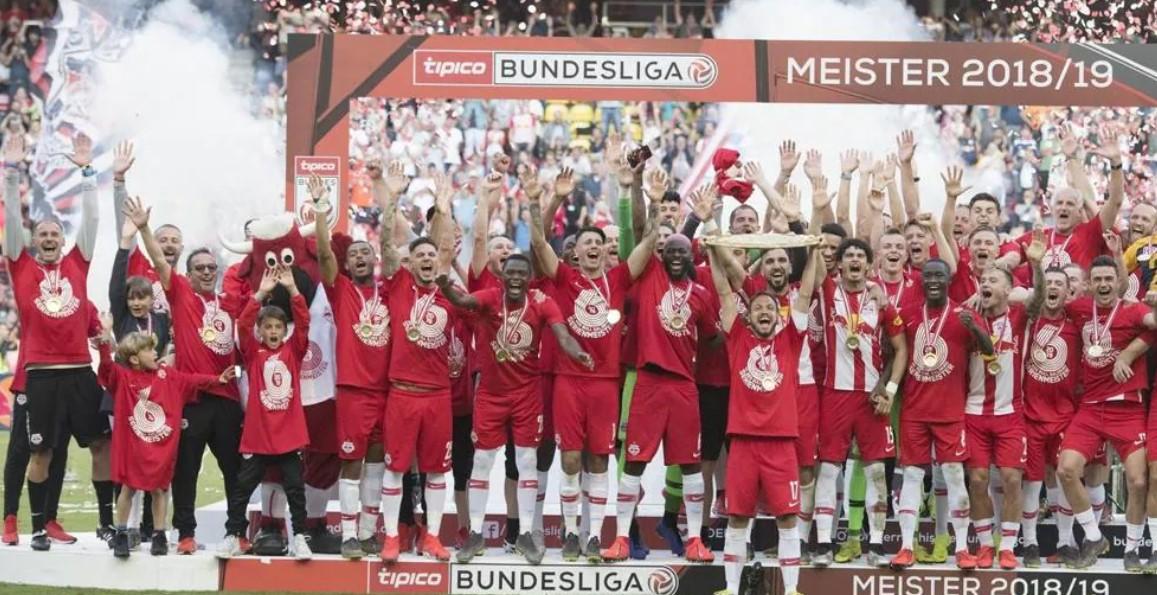 Red Bull Salzburg win the Austria Bundesliga