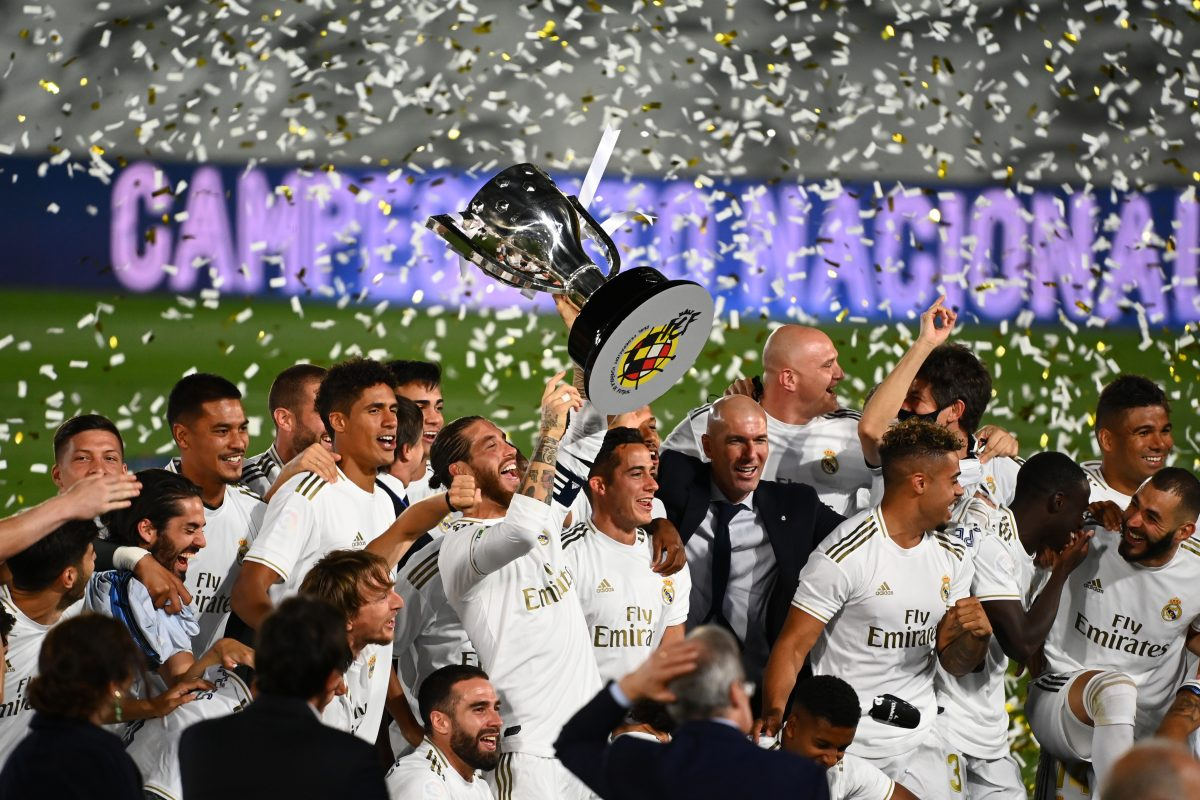 Real Madrid win La Liga 2019-20