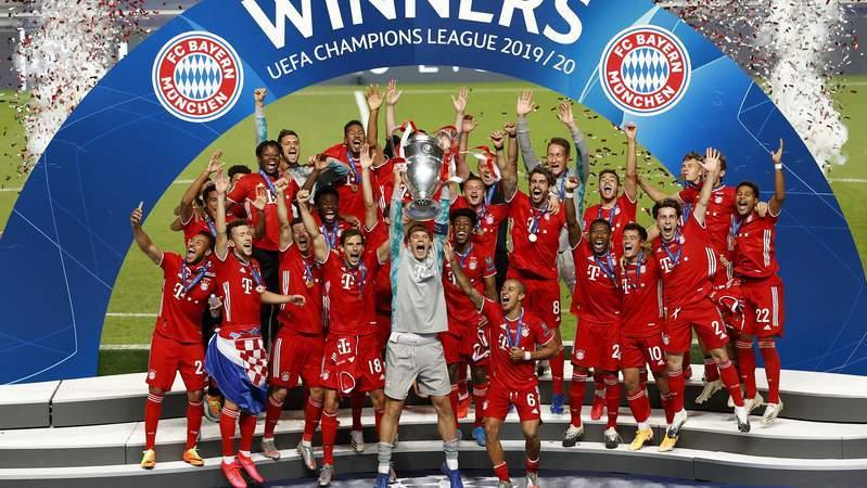 Bayern Munich win the 2019-20 Champions League